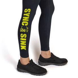 Swim Leggings Sync Dont Sink
