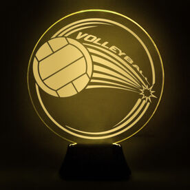 Volleyball Acrylic LED Lamp Spike