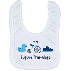 Triathlon Baby Bib - Future Triathlete