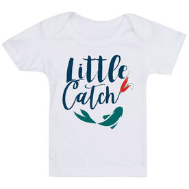 Fly Fishing Baby T-Shirt - Little Catch