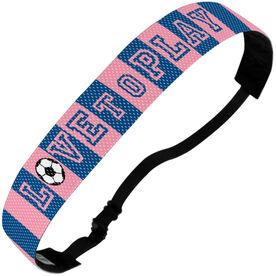 Soccer Julibands No-Slip Headbands - Love To Play