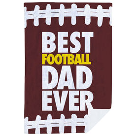 Football Premium Blanket - Best Dad Ever