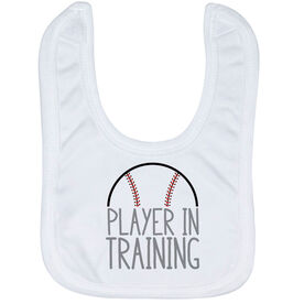 Baseball Baby Bib - Player In Training
