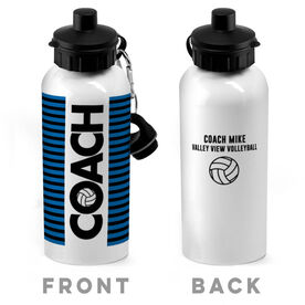 Volleyball 20 oz. Stainless Steel Water Bottle - Coach