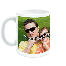 Baseball Coffee Mug Me & My Dad Custom Photo