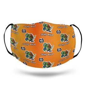 Seams Wild Football Face Mask - Slowyo (Pattern)