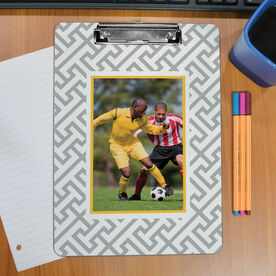 Soccer Custom Clipboard Soccer Your Photo Pattern