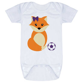 Soccer Baby One-Piece - Soccer Fox