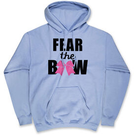 Cheerleading Hooded Sweatshirt - Fear the Bow