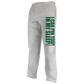 Wrestling Fleece Sweatpants I Can Pin You In My Sleep