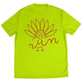 Men's Running Short Sleeve Tech Tee - Turkey Run
