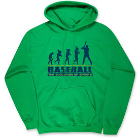 Baseball Standard Sweatshirt - Evolution of Baseball