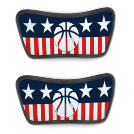 Basketball Repwell® Sandal Straps - Stars and Stripes