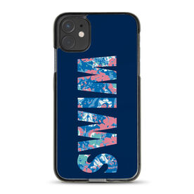 Swimming iPhone® Case - Floral Swim