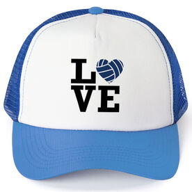 Volleyball Trucker Hat Love Volleyball