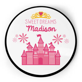 Personalized Circle Plaque - Princess Castle
