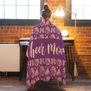 Cheerleading Premium Blanket - Mom Stripe