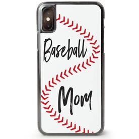 Baseball iPhone® Case - Mom With Ball Stitches [iPhone X or XS] -SS