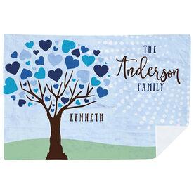 Personalized Premium Blanket - Family Tree