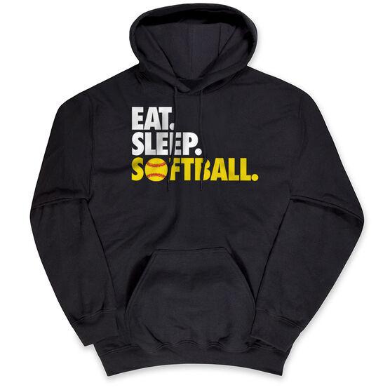 Softball Standard Sweatshirt Eat. Sleep. Softball.