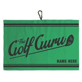 Golf Bag Towel The Golf Guru