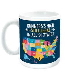 Running Coffee Mug - Still Legal In 50 States
