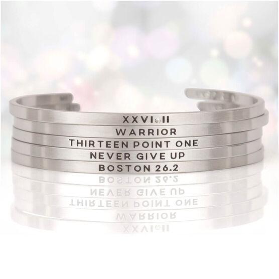 InspireME Cuff Bracelet - XXVI.II
