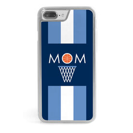 Basketball iPhone® Case - Basketball Mom Stripe