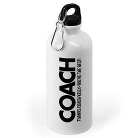 Personalized 20 oz. Stainless Steel Water Bottle - Personalized Coach