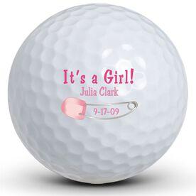 It's A Girl! Pin Golf Balls
