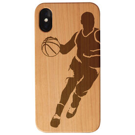 Basketball Engraved Wood IPhone® Case - Basketball Player