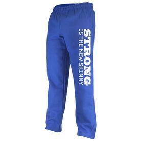 Cross Training Fleece Sweatpants Strong Is The New Skinny