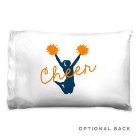 Cheerleading Pillowcase - Cheer Girl Silhouette
