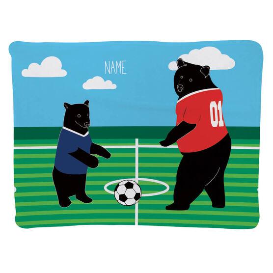 Soccer Baby Blanket - Bears