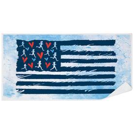 Running Premium Beach Towel - United States of Runners