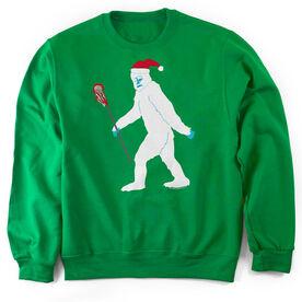 Guys Lacrosse Crew Neck Sweatshirt - Abominable Laxman
