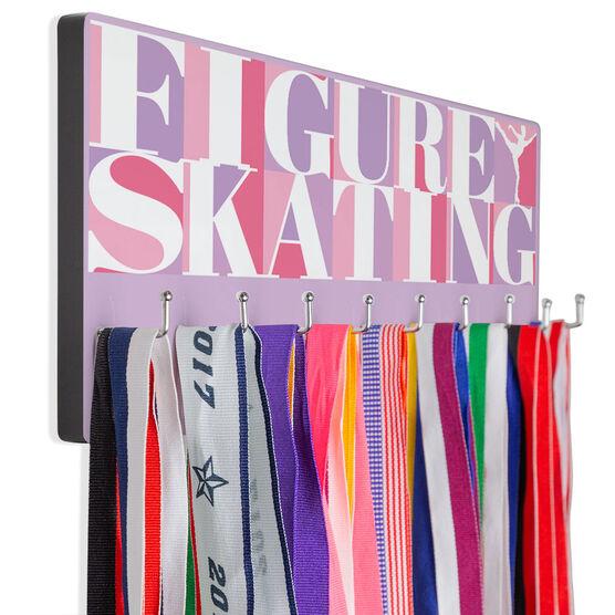 Figure Skating Hooked on Medals Hanger - Figure Skating Mosaic