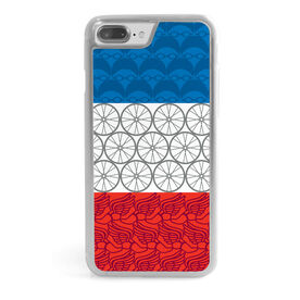 Triathlon iPhone® Case - Patriotic Print