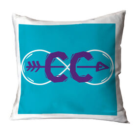 Cross Country Throw Pillow Infinity