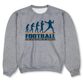 Football Crew Neck Sweatshirt - Football Evolution