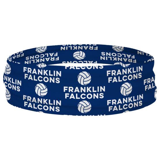Volleyball Multifunctional Headwear - Custom Team Name Repeat RokBAND