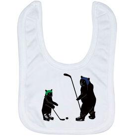Hockey Baby Bib - Bears