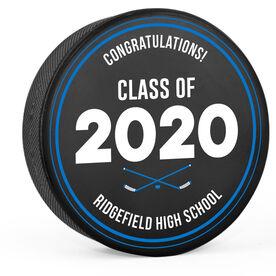 Personalized Hockey Puck - Graduation