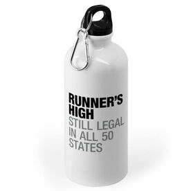 Running 20 oz. Stainless Steel Water Bottle - Runners High