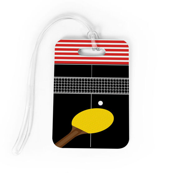 Ping Pong Bag/Luggage Tag - Table