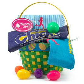 Running Chick Easter Basket 2018 Edition