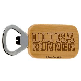 Ultra Runner Maple Bottle Opener