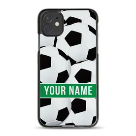 Soccer iPhone® Case - Personalized Ball Pattern
