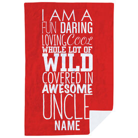 Personalized Premium Blanket - That's My Uncle