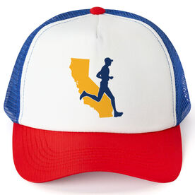 Running Trucker Hat - California Male Runner